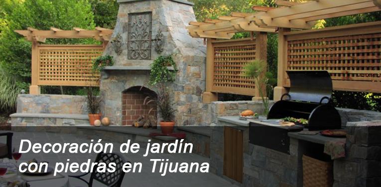 Decoraci n de jard n con piedras en tijuana for Decoracion de jardines con piedras